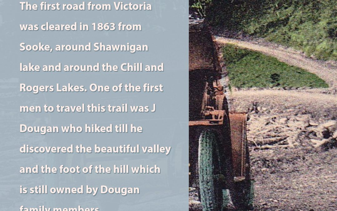 The first road from Victoria …