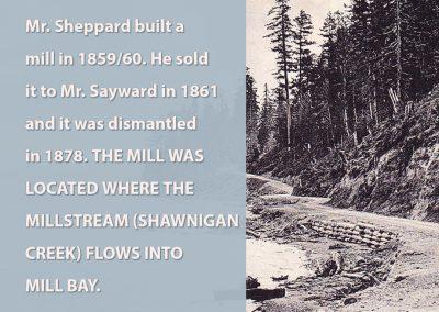 Mr. Sheppard built a mill