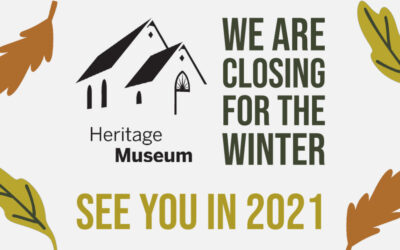 We are closing for the winter but …