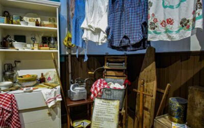 """This is an authentic washday 'receipt""""…"""